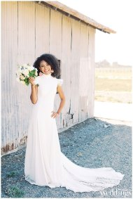 On Andrea: Gown From a&bé bridal shop sacramento; Jewelry From Macy's; Hair and Makeup by Lisa Harter Hair and Makeup Artist