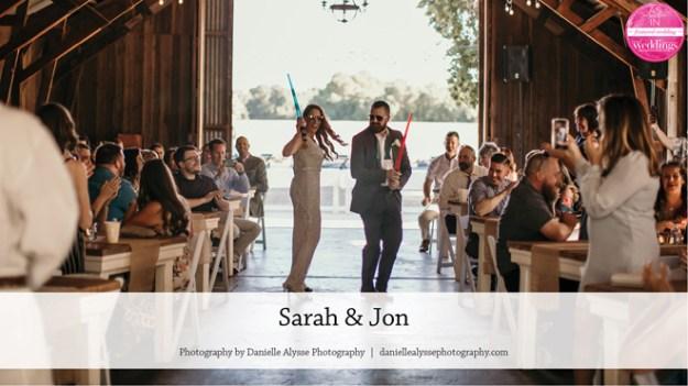 Barn Wedding | Star Wars Wedding | May the Fourth | Sacramento Wedding