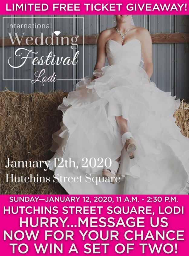 International Wedding Festival | Lodi Bridal Show | Lodi Wedding Event