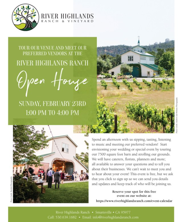 River Highlands Ranch - Sacramento Wedding Venue Open House
