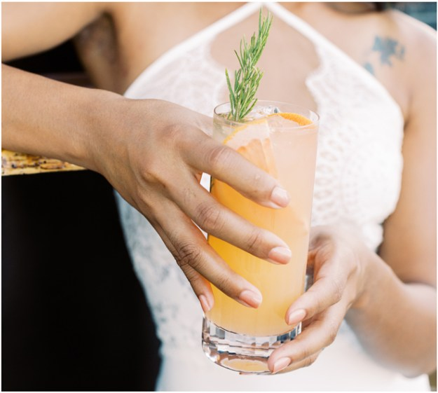 Belle Aventure Mobile Bar Co | Signature Cocktails | Sacramento Wedding Bar Service