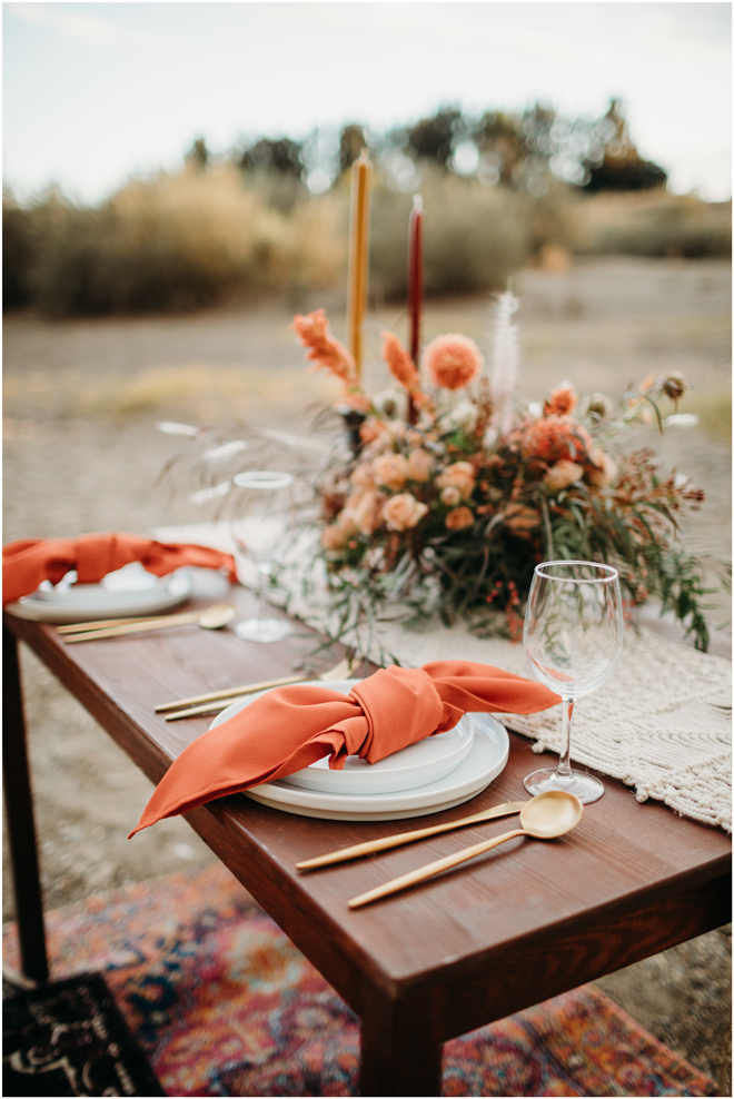 Sacramento Tahoe Boho Adventure Elopement Wedding Photographer Decor