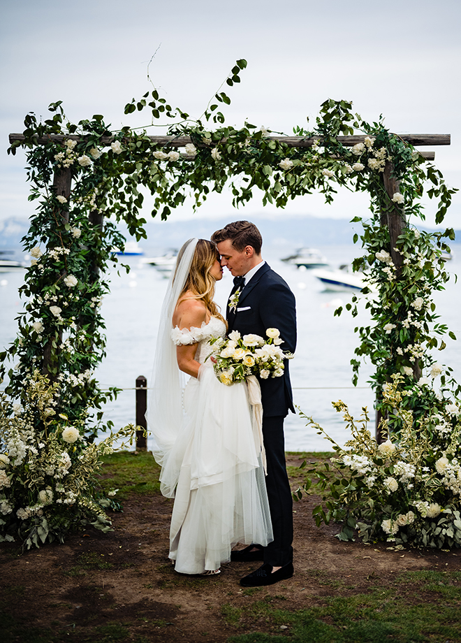 Alex and Michael West Shore Tahoe Wedding Charleton Curchill