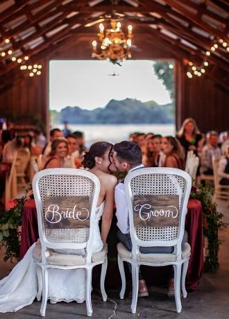 Erica and Nicholas Barn Fall Pumpkin wedding