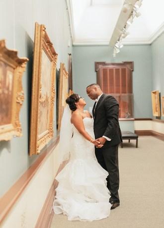 Kristina & Russell Crocker Art Museum Wedding Image Society