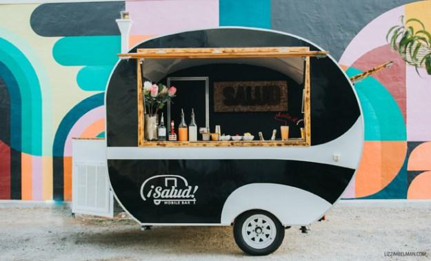 Sacramento Tahoe Wedding Mobile Bar Signature Cocktails | Salud Mobile Bar