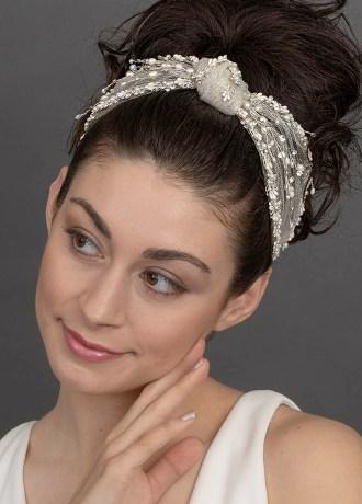 Real Weddings Magazine Contest Giveaway Giselle Bridal Headband Second Summer Bride | Best Sacramento Tahoe Northern California Vendors