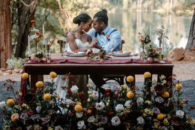 Apple Hill Elopement Micro Wedding Katelyn Bradley Photography Autumn Inspiration