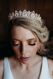 Wedding Tiara Jewelry Sacramento Luxurious Bridal by Liz Koston Photography