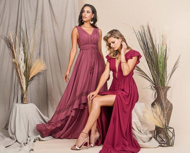 Azazie Bridesmaid Dresses Win Dresses from Real Weddings Magazine Boho Wedding