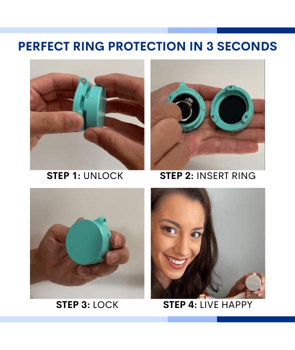 Love Locker Ring Protection Real Weddings Magazine