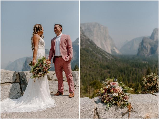 Sacramento Tahoe Adventure Wedding Photographer | Northern California Elopement Photography | Yosemite Tunnel View Microwedding Photographer