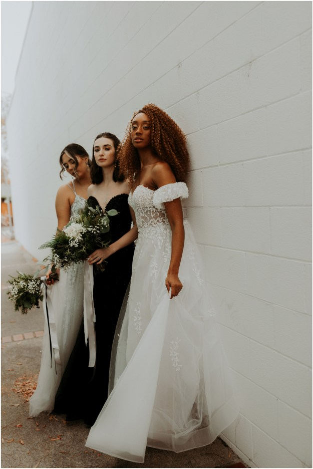 Sacramento New Year's Eve-Inspired Bridal Bridesmaids Fashion Beauty Styled Shoot | Bouquet | Wedding Photography Videography