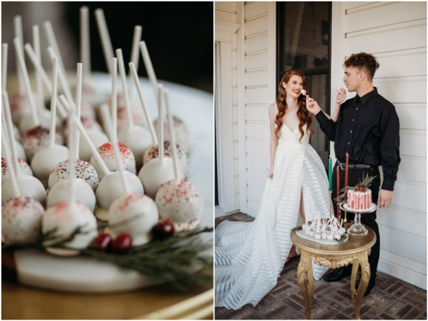 Christmas-Themed Inspiration Styled Shoot | Elopement | Micro-Wedding | Sacramento Auburn Roseville Event Rentals