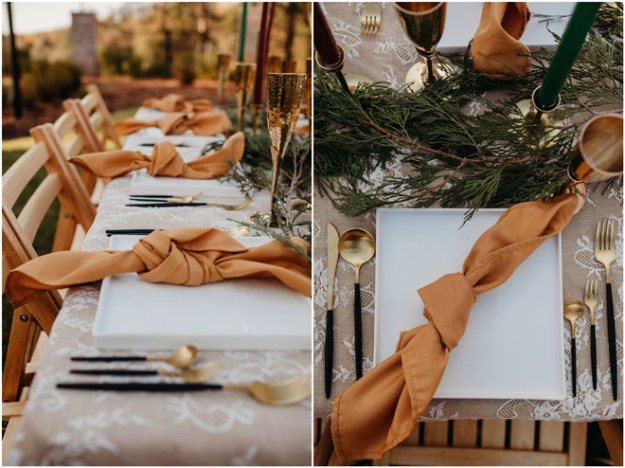 Winter Wedding Inspiration Styled Shoot | Elopement | Micro-Wedding | Sacramento Auburn Event Rentals