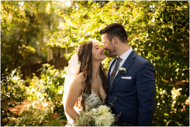 Danielle Alysse Photography Bianca and James Mill Valley Garden Wedding