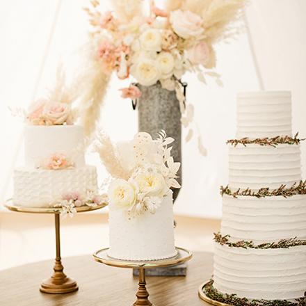 Cakes, Candies + Desserts