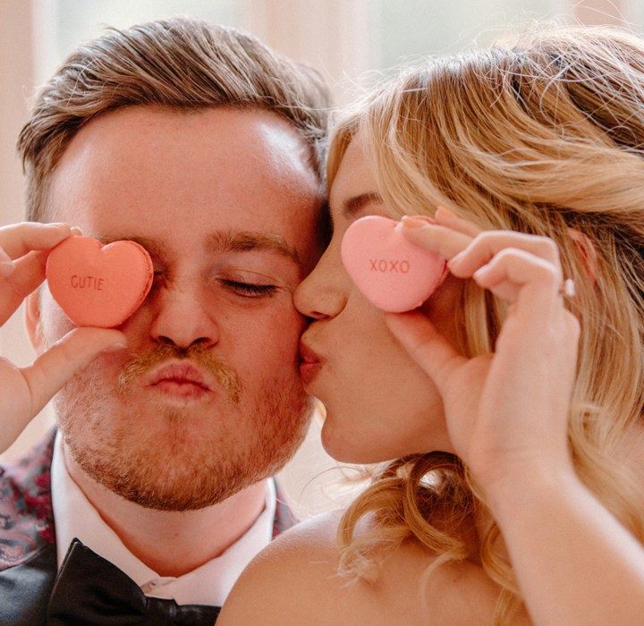 Romantic + Chic Valentine's Day Wedding Inspiration Styled Shoot