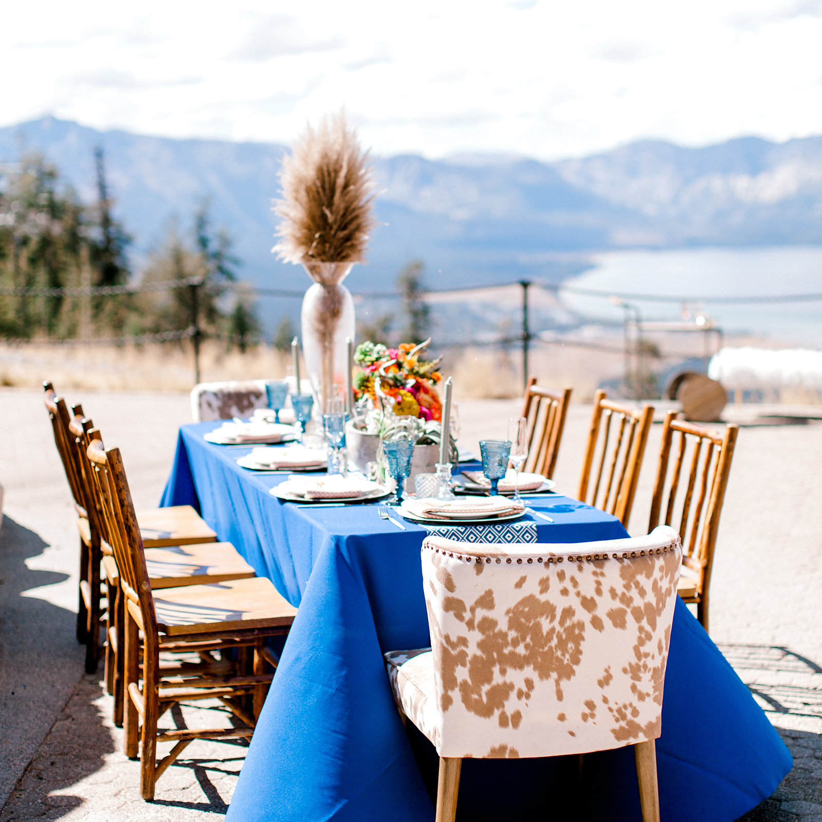 Omni Wedding and Event Planning In The Clouds Photo Shoot Tahoe