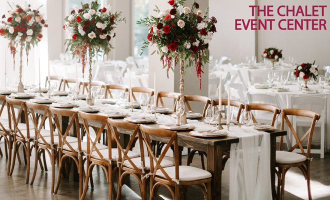Rocklin Sacramento Tahoe Wedding Venue   The Chalet Event Center