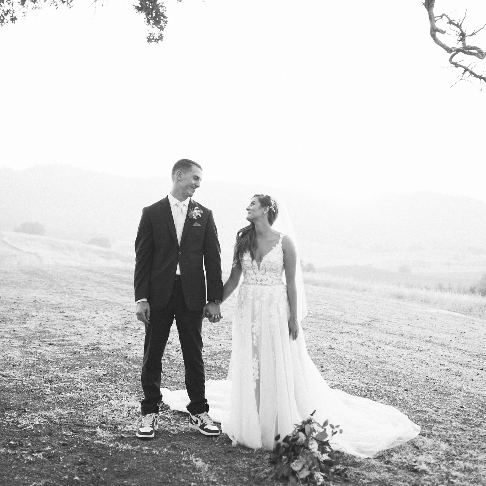 Nicole + Kory's Woodland Wedding by Valley Images Photography at Taber Ranch