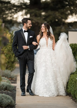 Lily Rose Photography Luca and Jason's St. Helena Wedding in Real Weddings Magazine