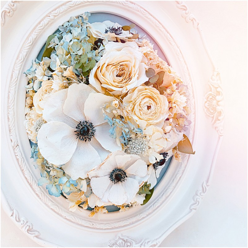 Floral Preservation with Endless Florals Review by Real Weddings Magazine
