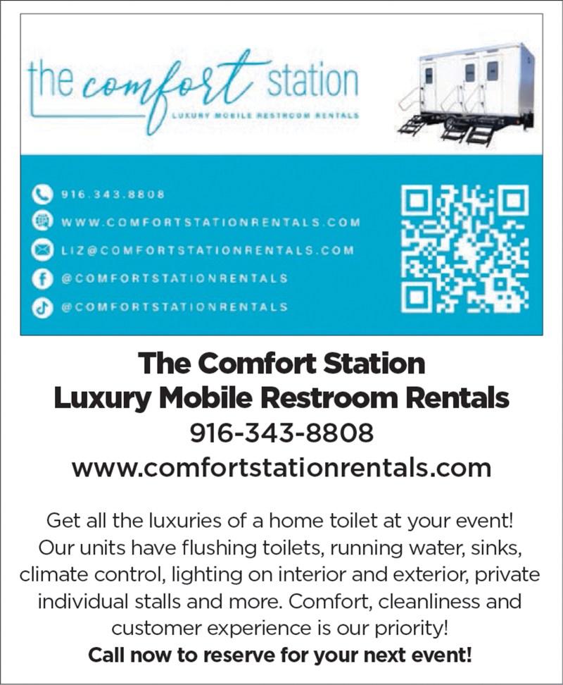 Sacramento Luxury Restroom Porta Potty Rentals