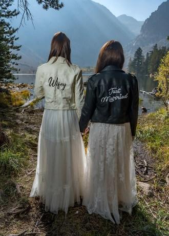 JB Wedding Photo & Videography Becky & Patty Inyo National Forest Wedding