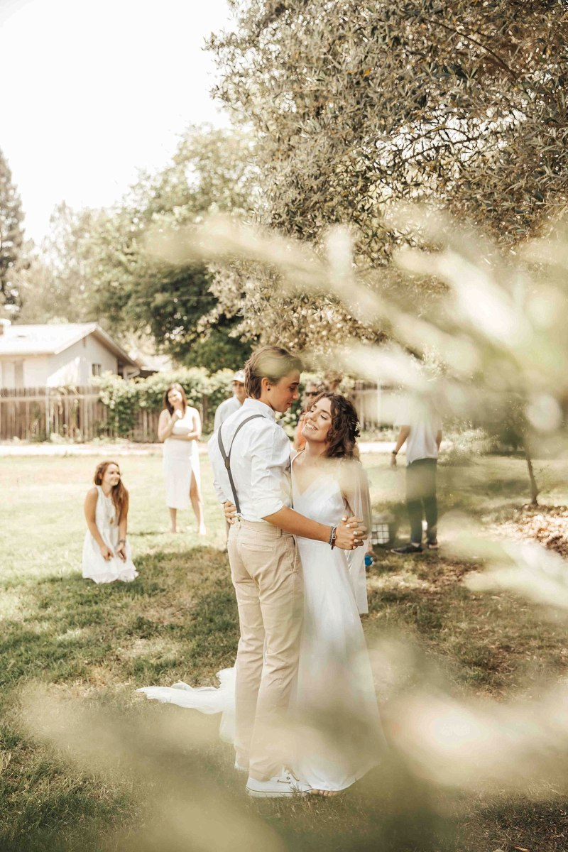 Macy Sheaman Arianna and Isaiah Backyard Wedding