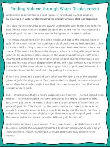 FREE PRINTABLE science experiment for finding volume using water -- differentiated for use with preschool through high school | great for science centers or math centers or multi-age homeschool groups - pg 3