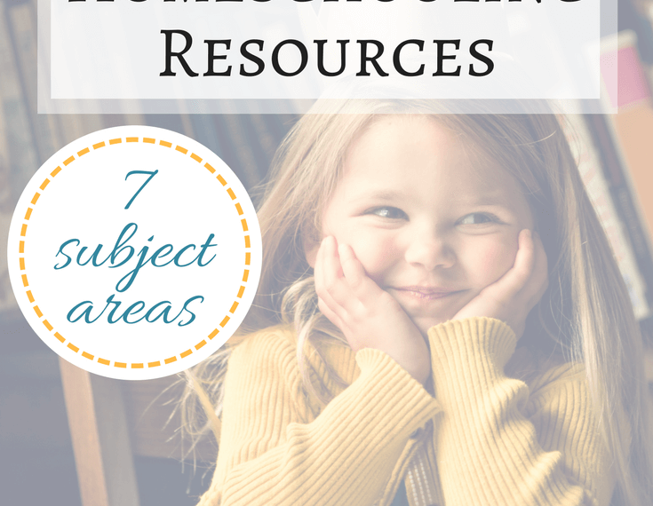Our favorite homeschool resources for all ages and 7 subject areas