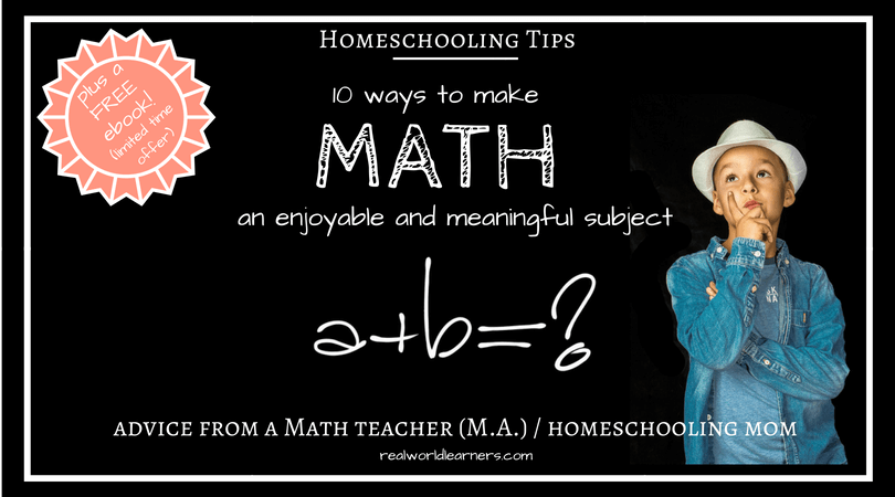 10 tips for making Math fun for kids