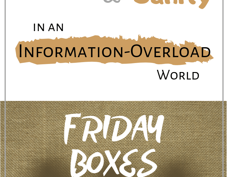 How to maintain happiness and sanity in an information-overload world: Focus on the positive with Friday Boxes (guest post by Homeschool on the Range)