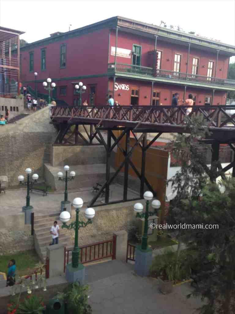 Lima Barranco Bridge of sight