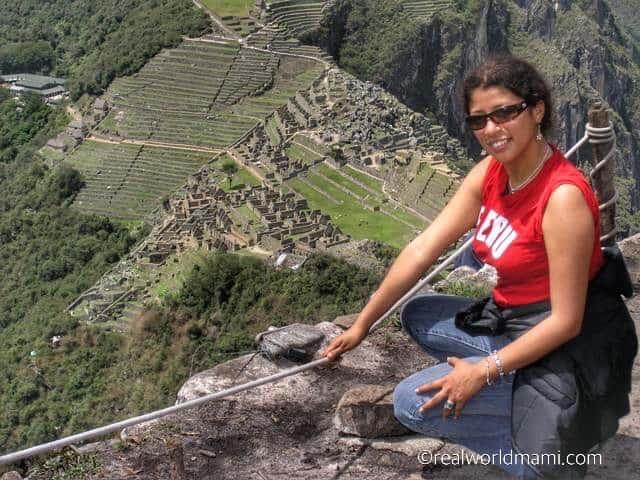 Peru with kids: WaynaPicchu