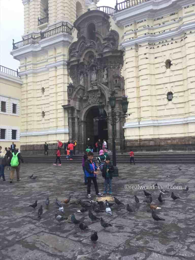 Places for kids. Lima Peru San Francisco Monastery