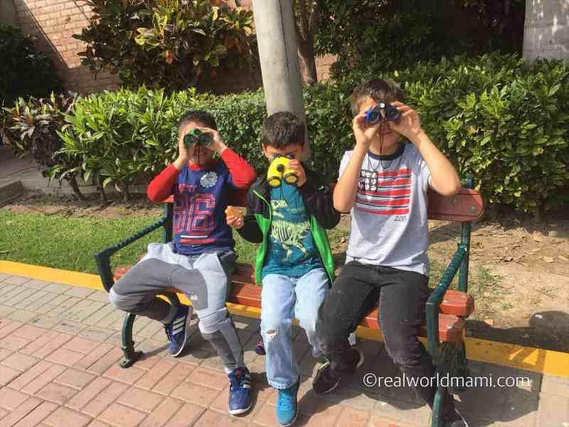 Peru with kids Lima zoo