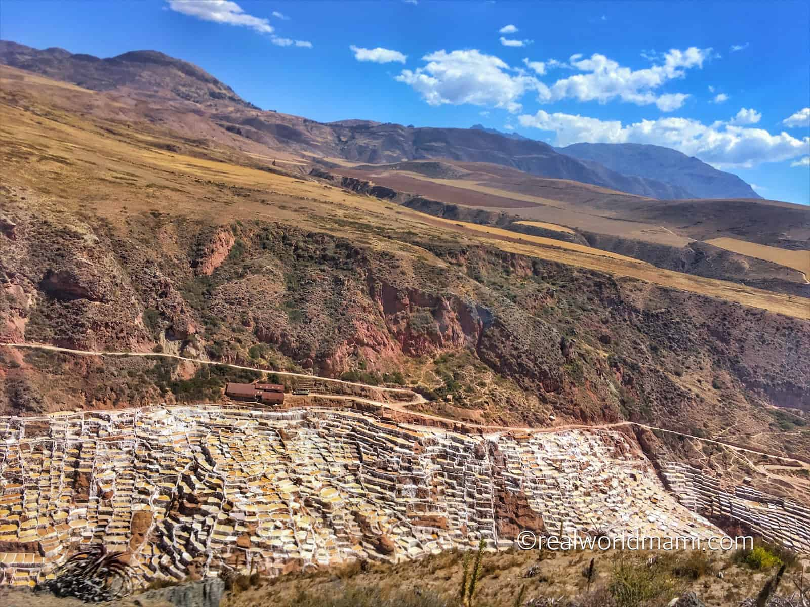 Going down the road in Sacred Valley
