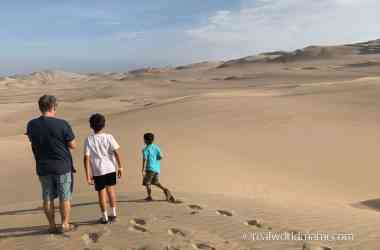 travel with kids to Huacachina and Dunes