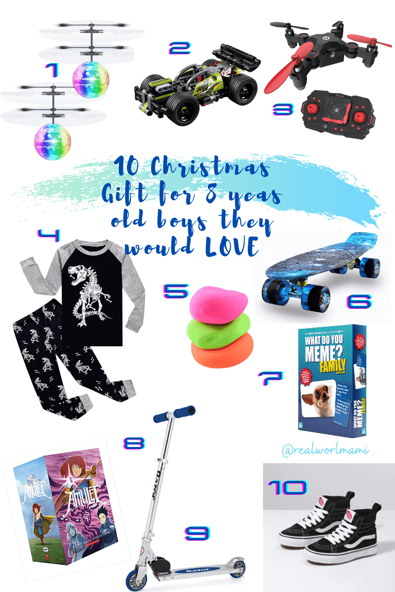 Christmas gift for 8 years old