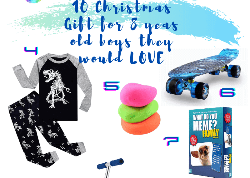 Best Gifts for 8 Year Old Boys