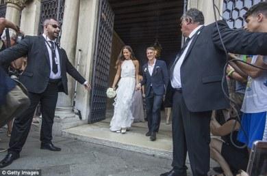 Football Meets Tennis As Schweinsteiger Weds Ana Ivanovic ,, - Copy