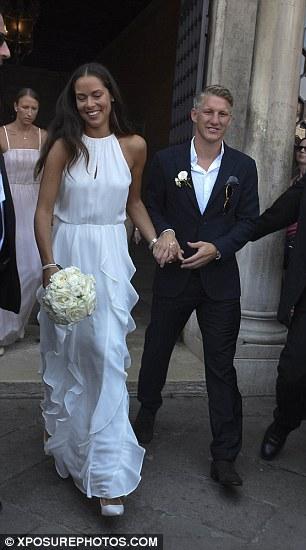 Football Meets Tennis As Schweinsteiger Weds Ana Ivanovic