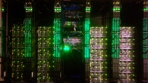 Glowing Green 20 Chassis Cisco UCS
