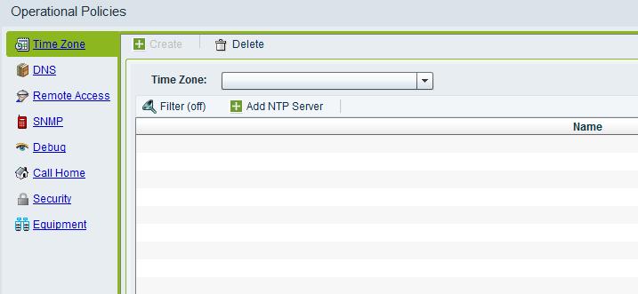 Delete NTP Servers 01