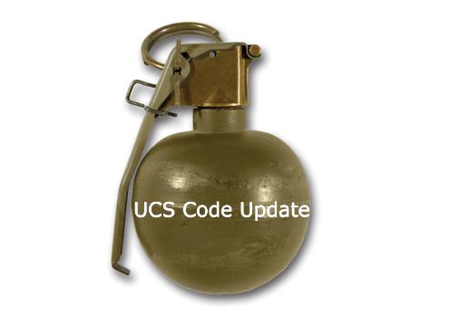 UCS Code Update