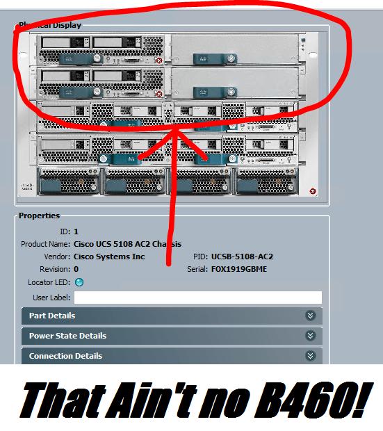 Cisco B460