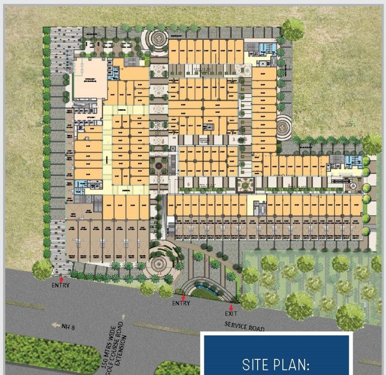 M3M Corner Walk Gurgaon, Southern Periphery Road (SPR) Affordable, Affordable Shops, Commercial, Retail Shop