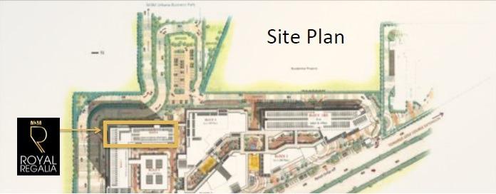 M3M Royal Regalia Golf Course Extension Road, Gurgaon Flats & Apartments, Luxury Site-Plan